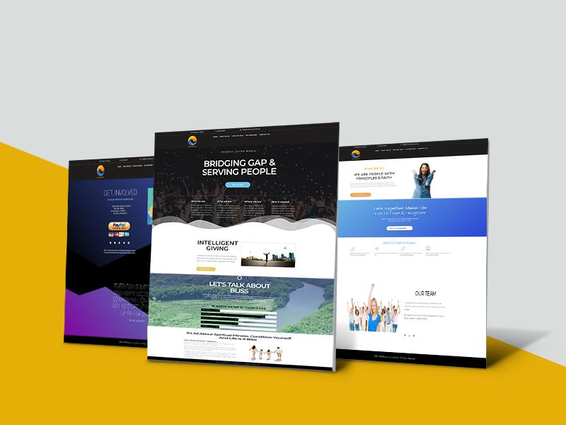 Blissful Living World website