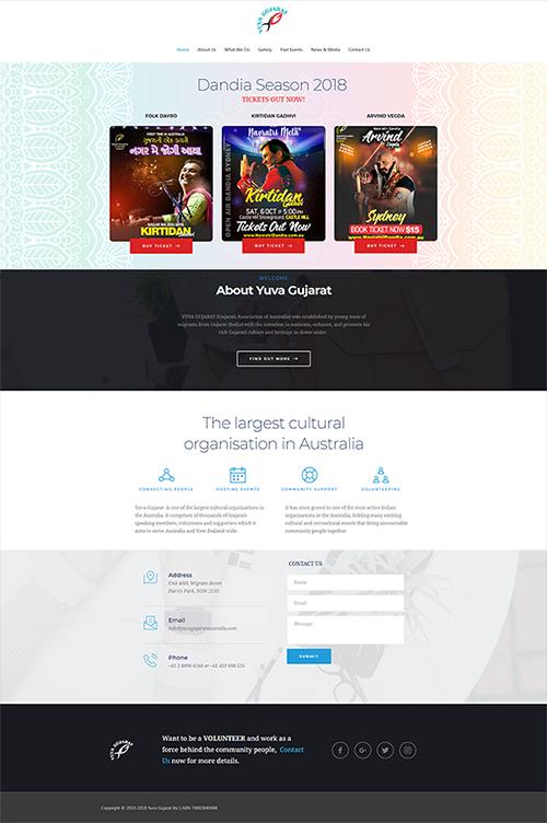 Yuva Gujarat Website