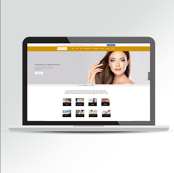 Beau Visage Beauty Spa & Wellness - website