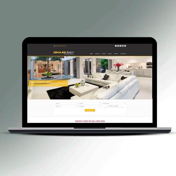 Omaxe Realty Website